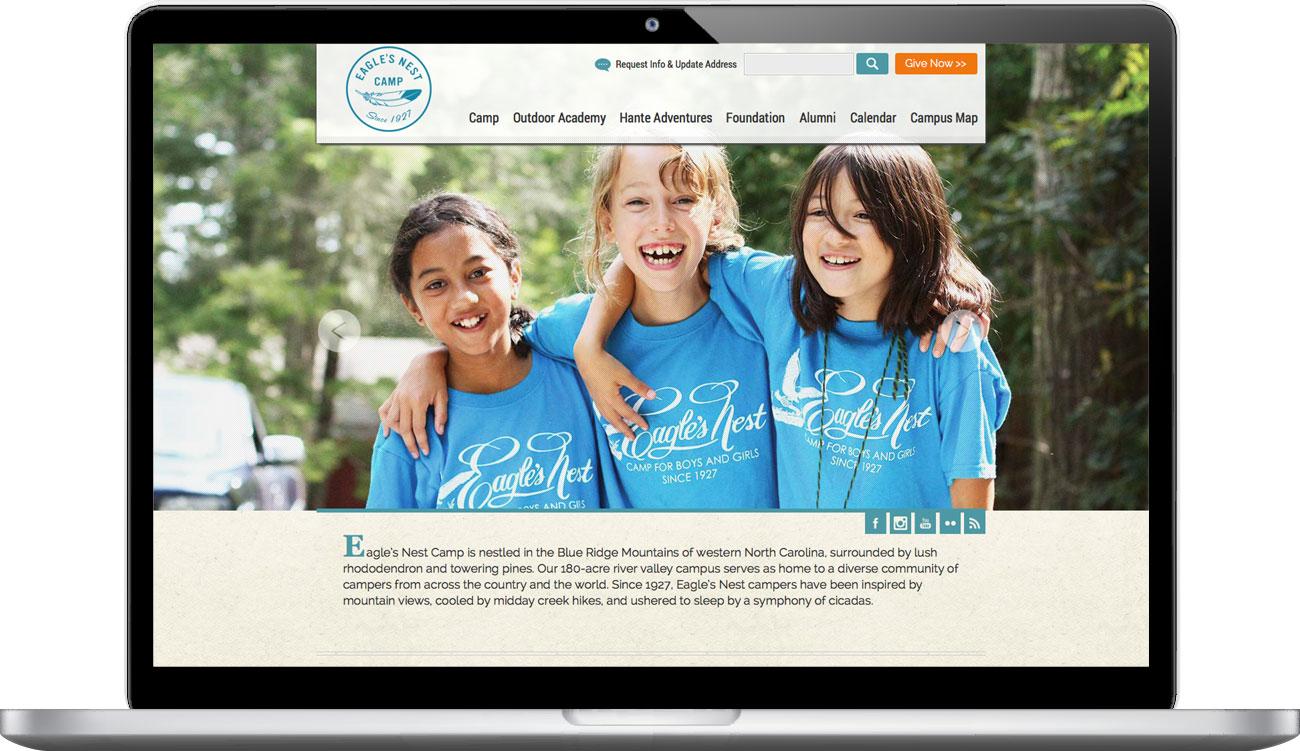 Eagle\'s Nest Foundation: Atlas Branding Design Agency Asheville NC