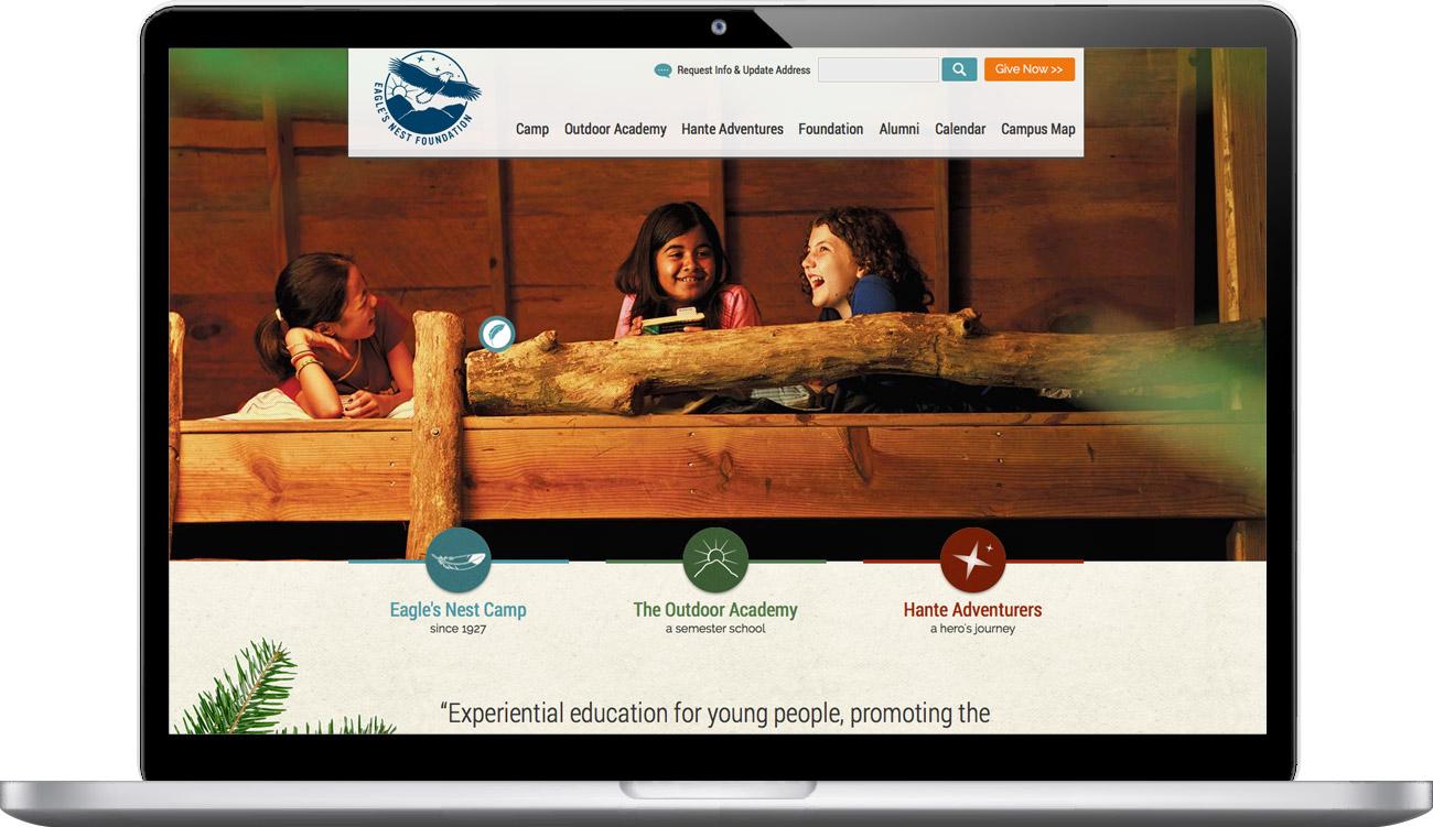 Eagle's Nest Foundation: Atlas Branding Design Agency