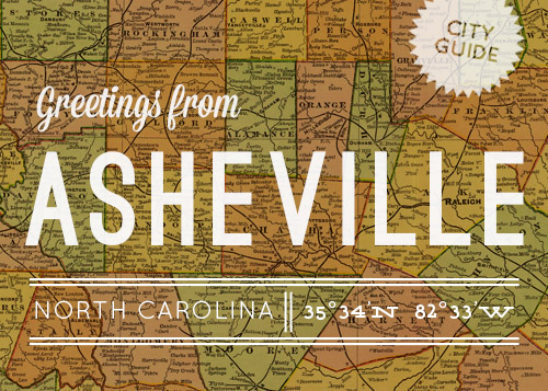 DesignSponge Asheville City Guide